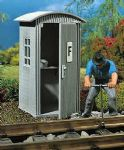 Vollmer 41249  Telephone Hut, L.60 x B. 60 x H. 105mm